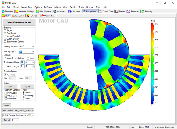 Motor CAD EMag Feature